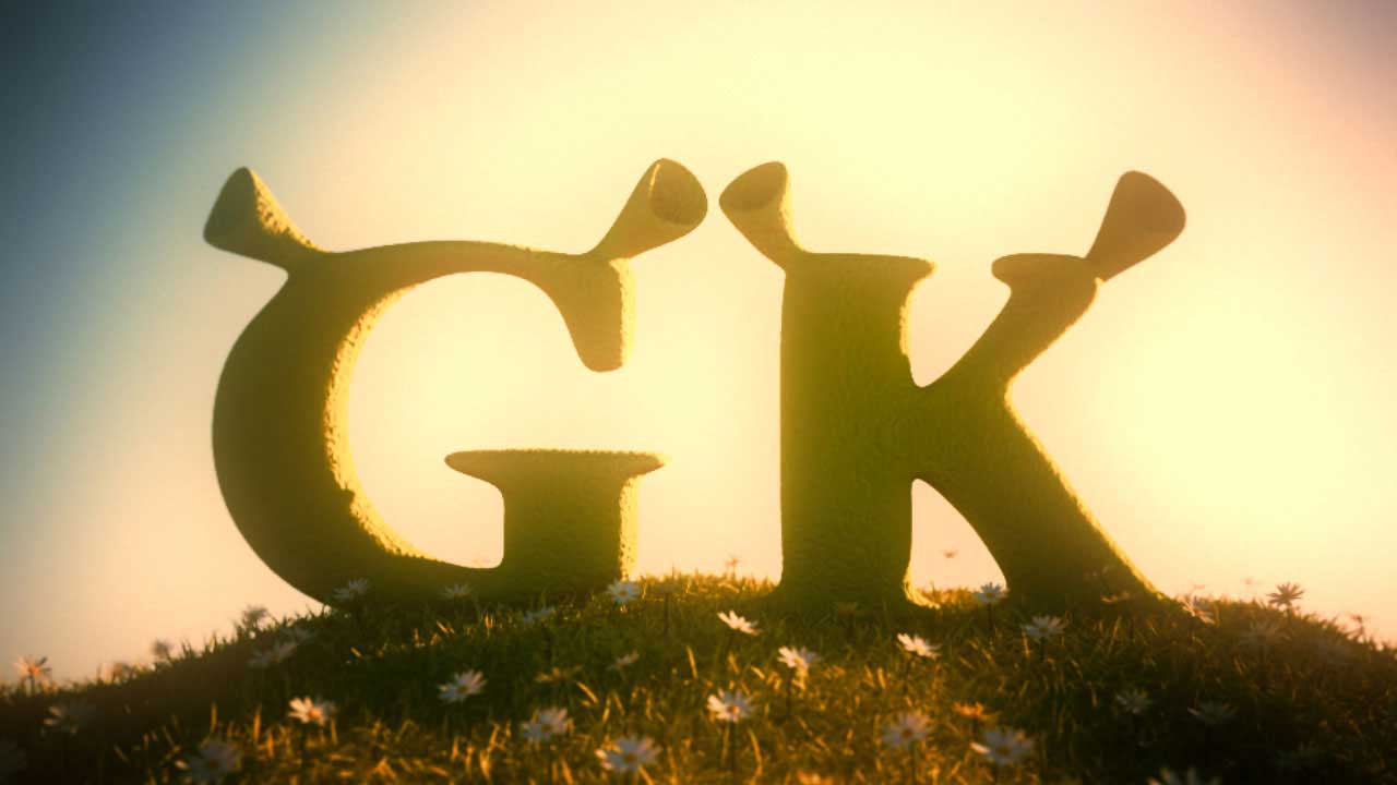 GK shrek 3D animation