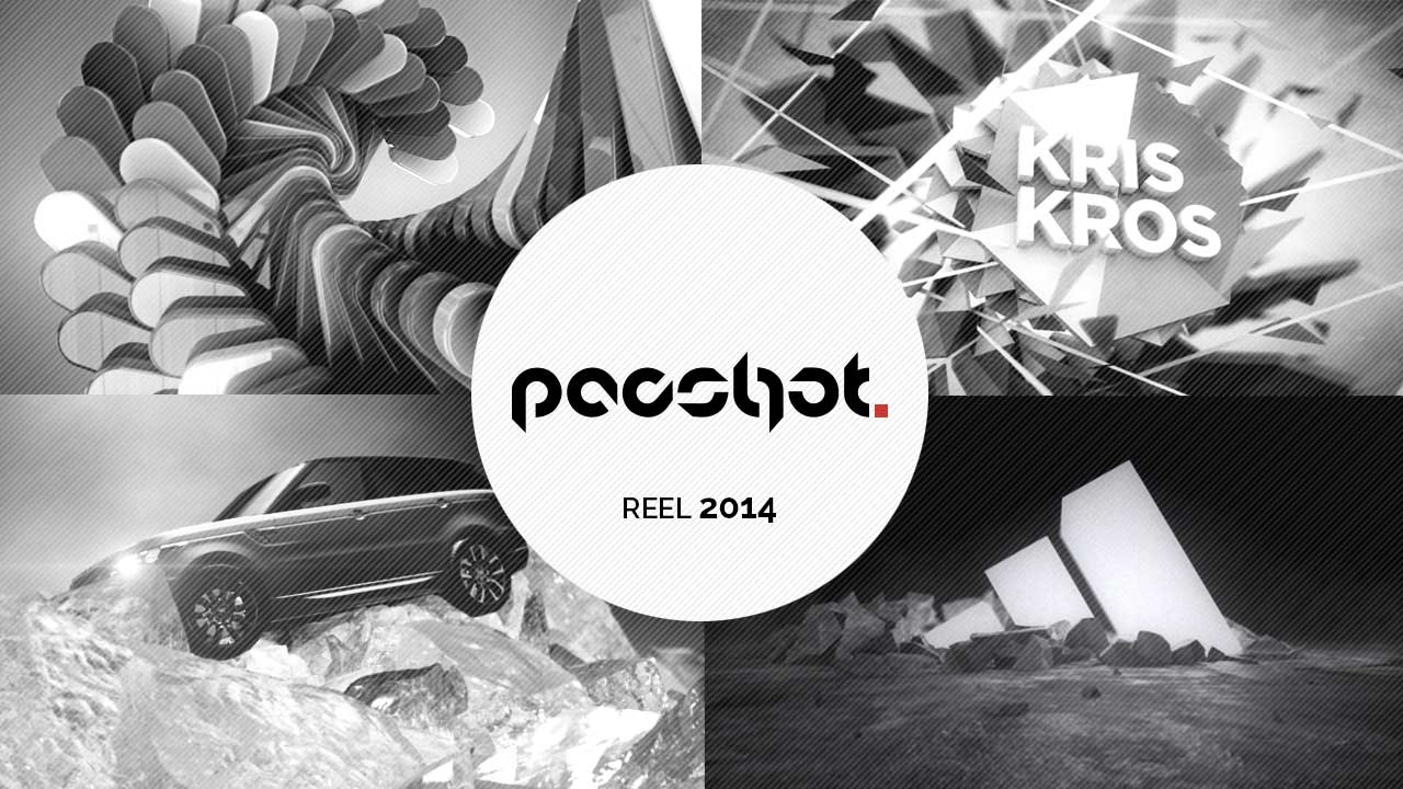 Pacshot 3D animation showreel 2014