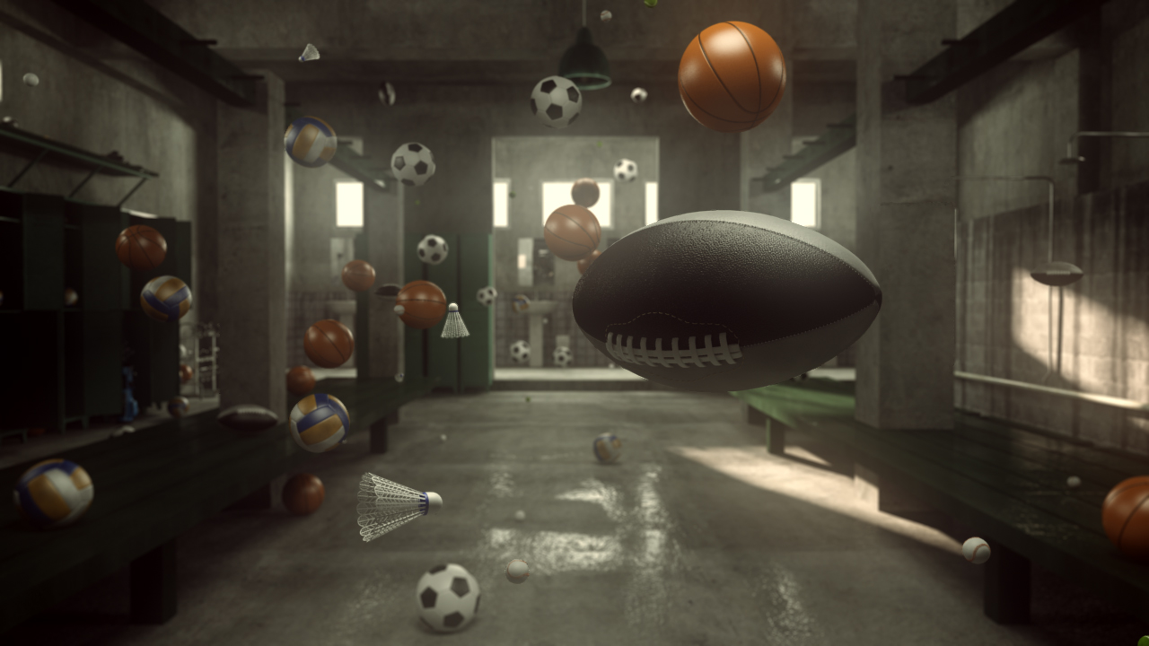 World Sports 3D animation