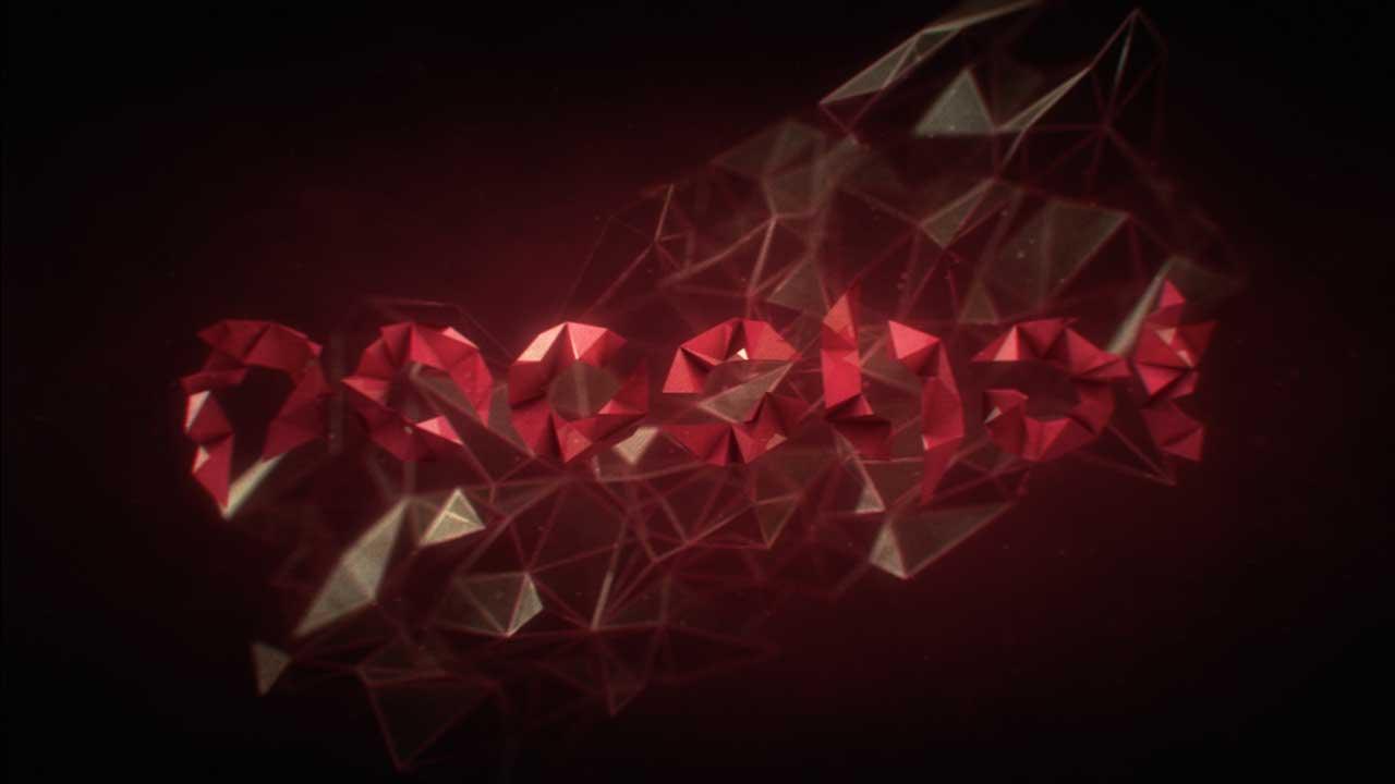 Pacshot 3D logo animation 3
