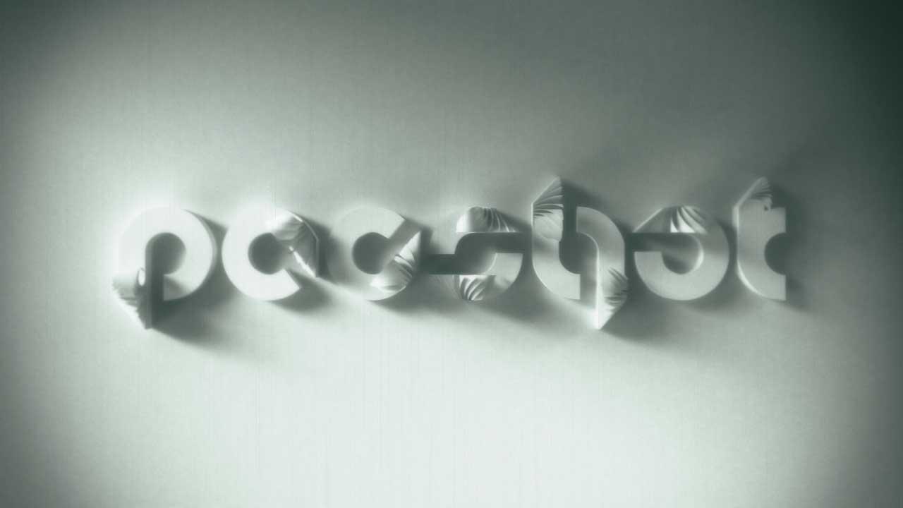 Pacshot 3D logo animation 2