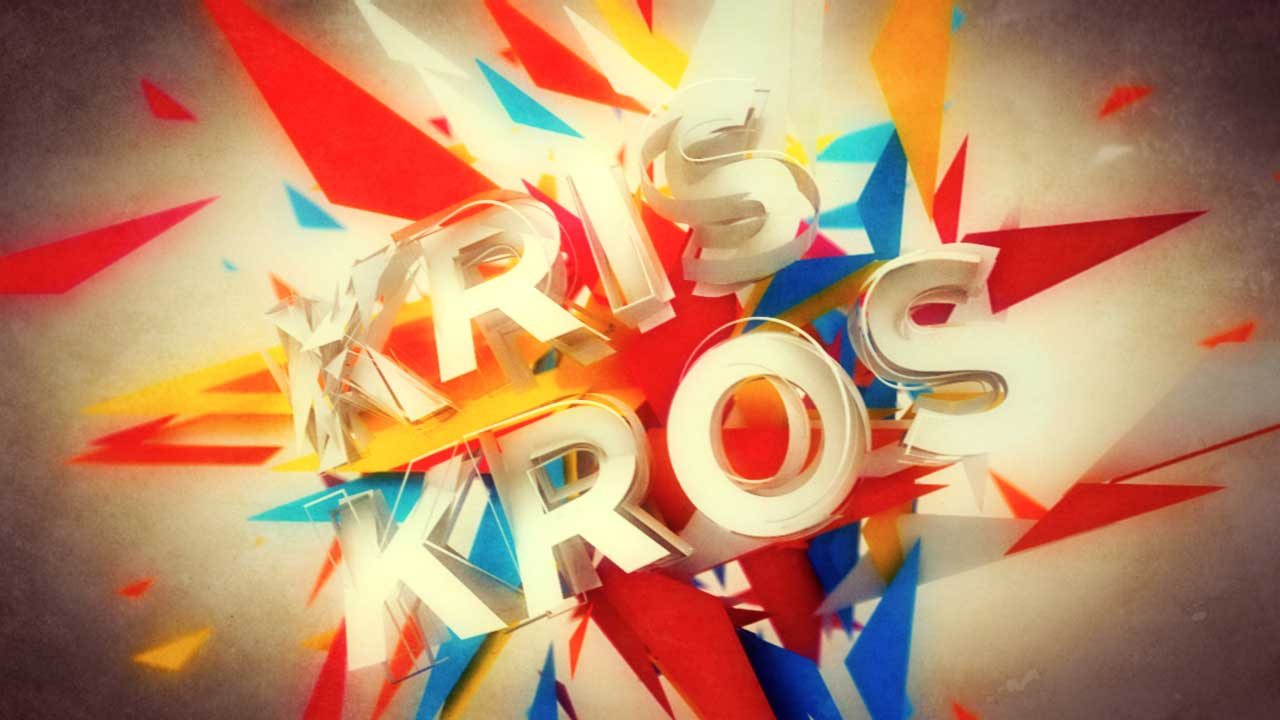 kris kros 3D logo animation