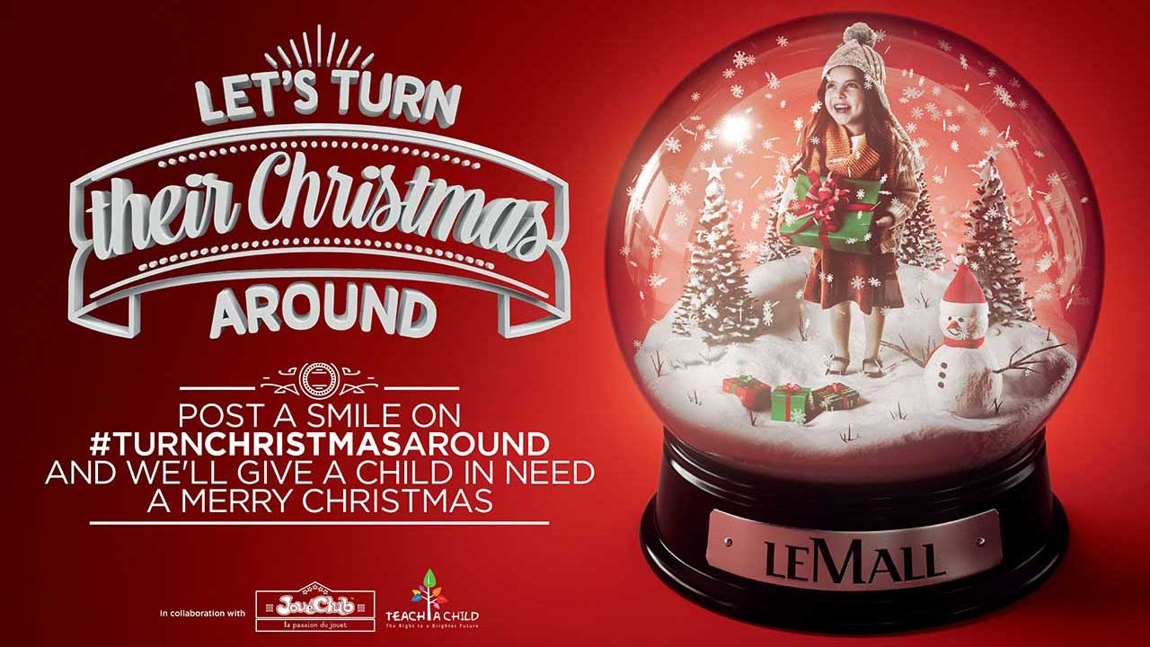 Le Mall Christmas 3D visualization