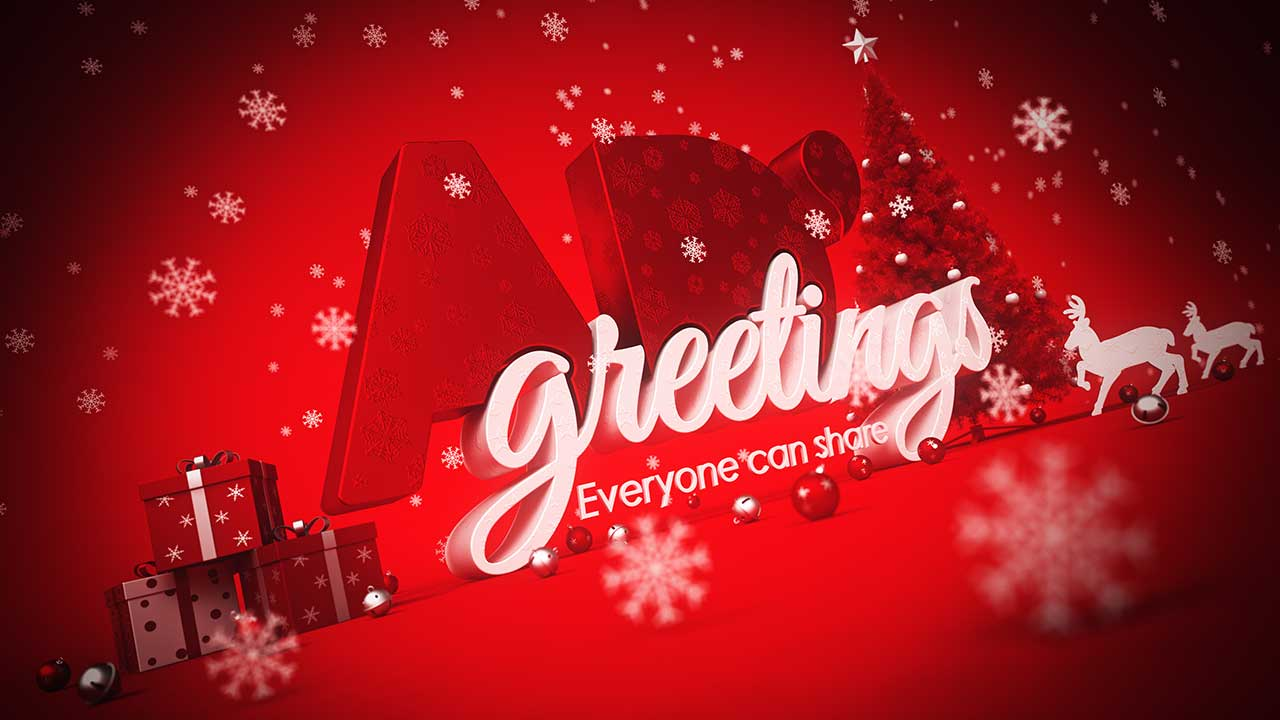 AD Greetings Christmas