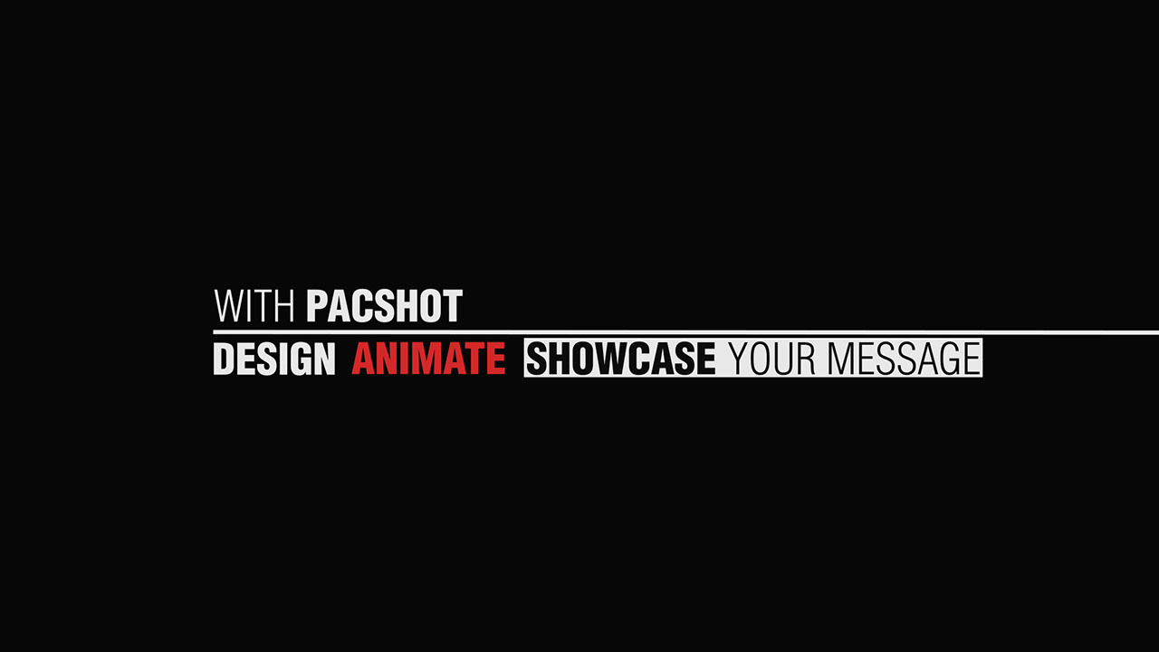 Pacshot agency explainer video