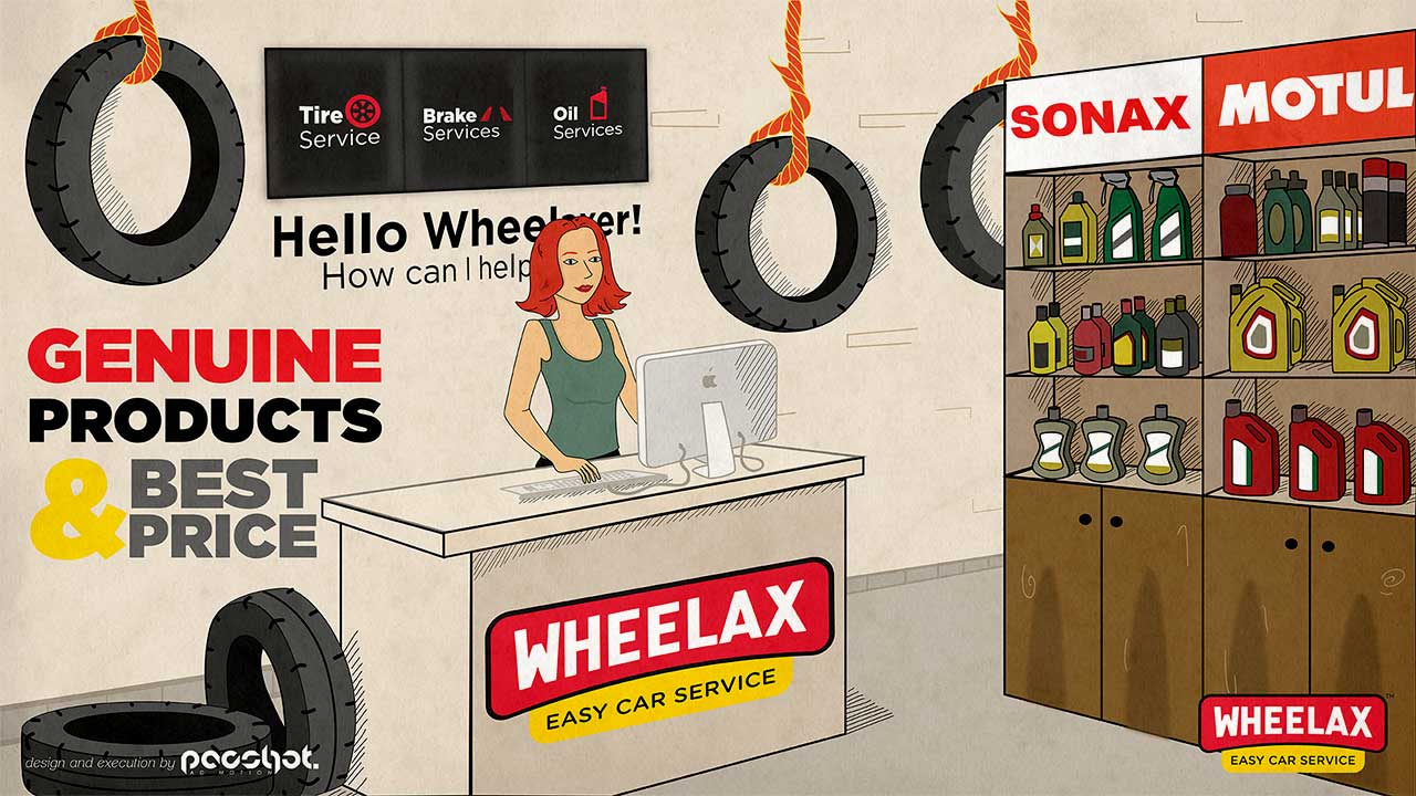 Wheelax services Advertising 3