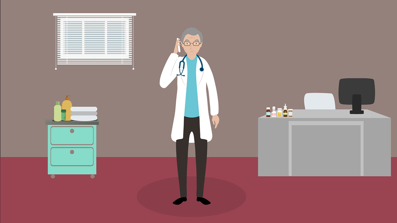 Bowel cancer screening Explainer video
