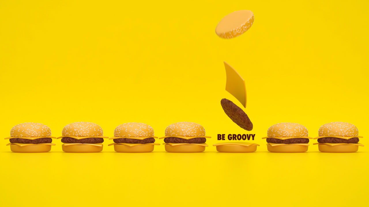 Be Groovy Be Unique Social Media Campaign